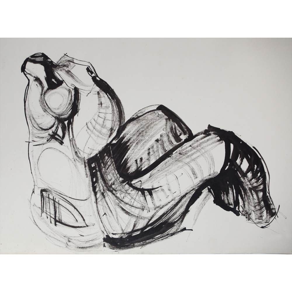 Study for Seated Figure