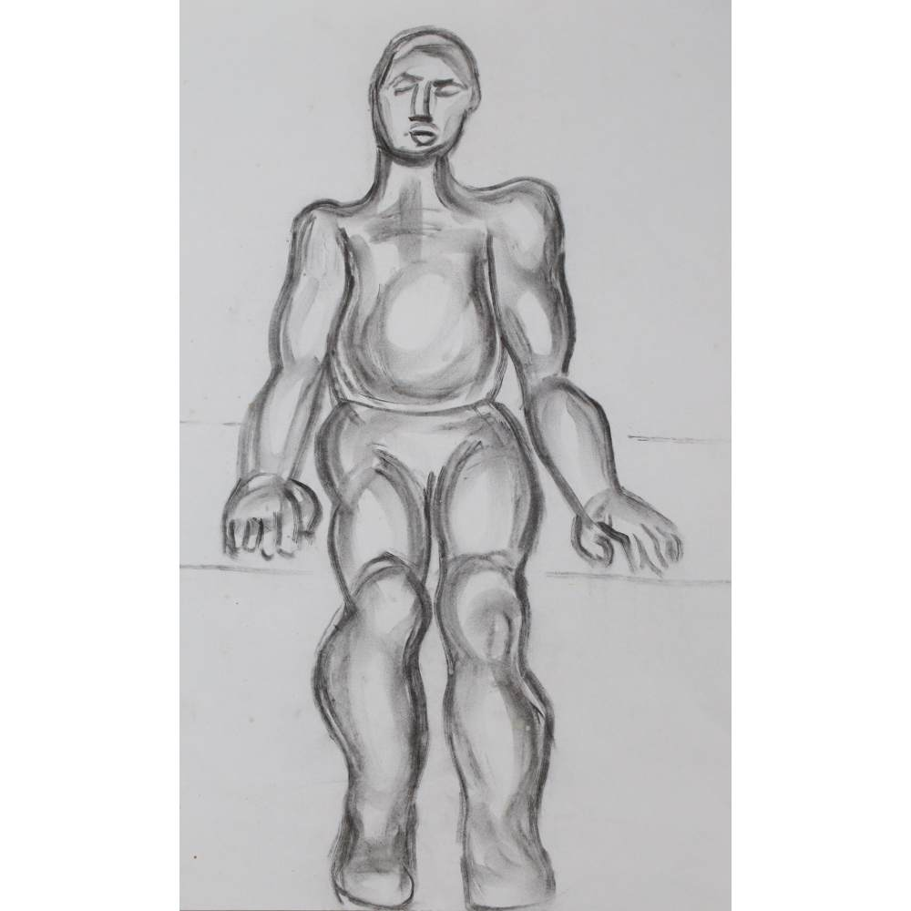 Study for Sitting Figure